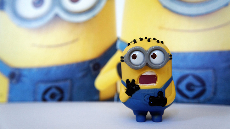 happy meal minion toy
