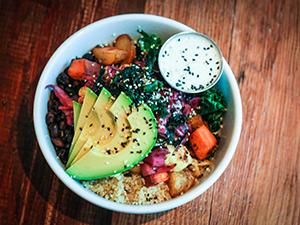 harlow restaurant betty bowl gluten free
