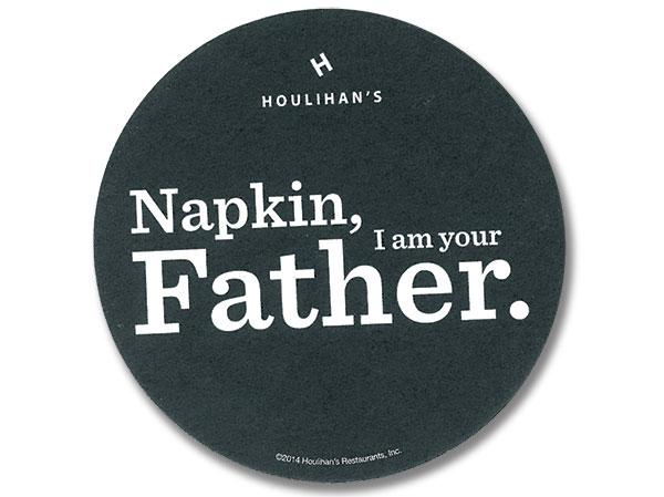 Houlihan's drink coaster