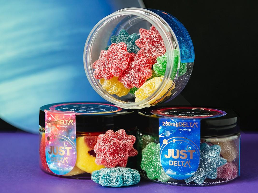 JustCBD Delta 8 Gummies