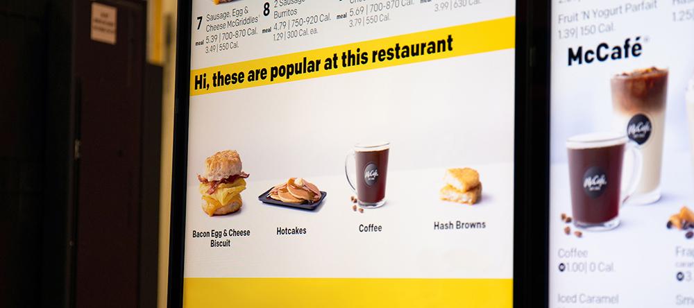 Photograph courtesy of McDonald's