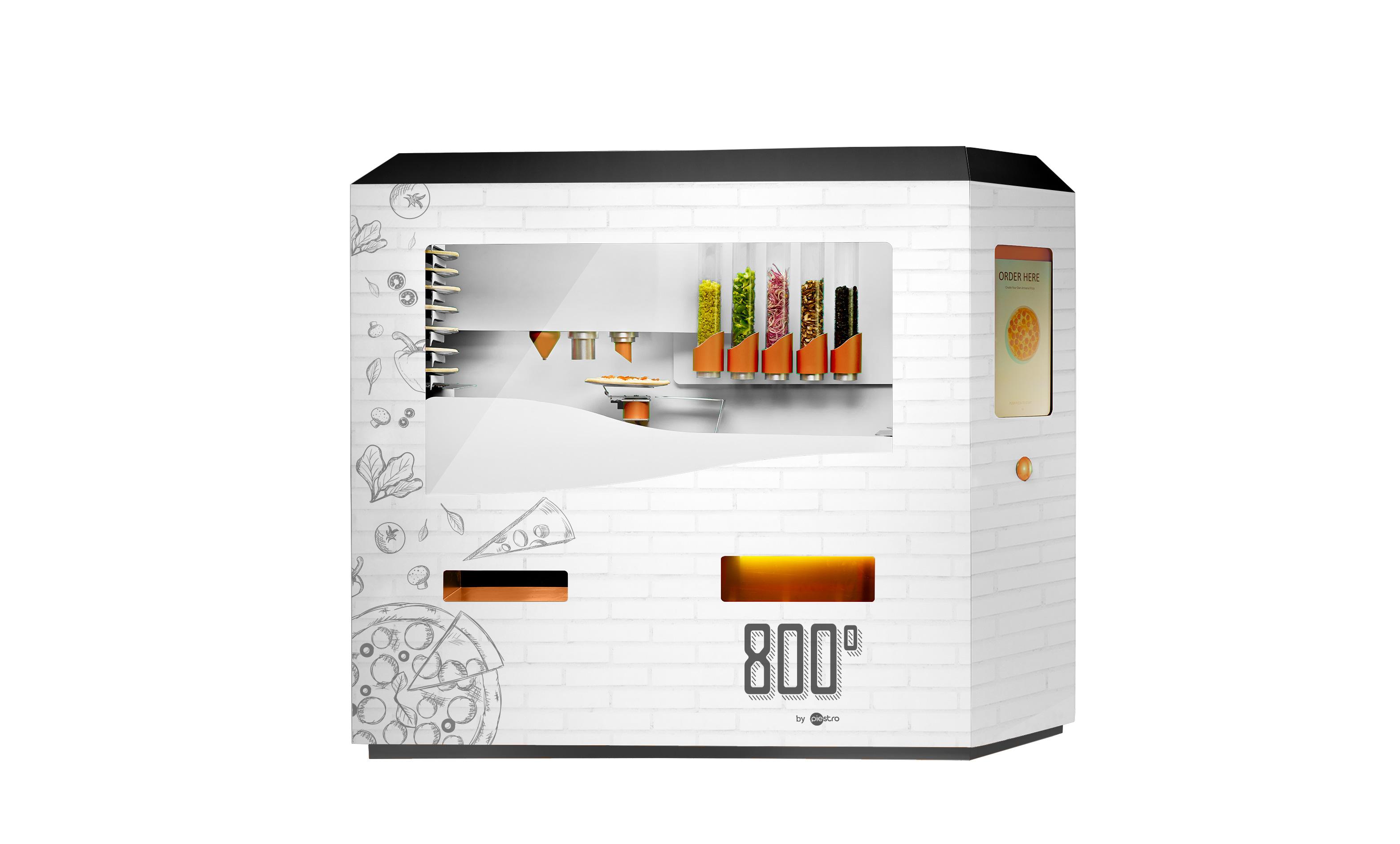 800 Degrees by Piestro machine