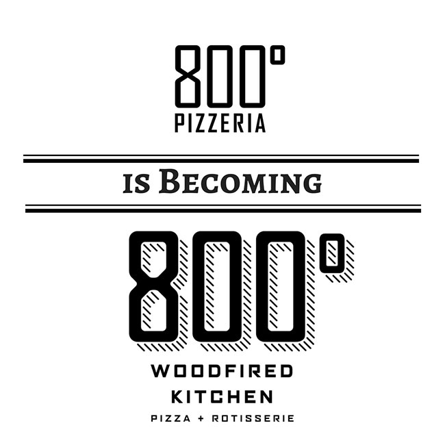 800 degrees logo