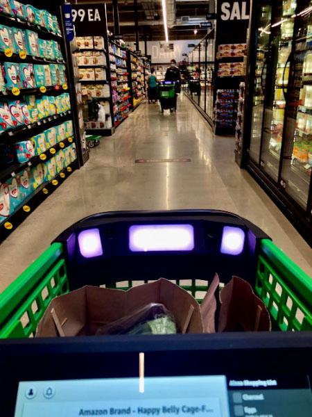 amazon fresh aisle