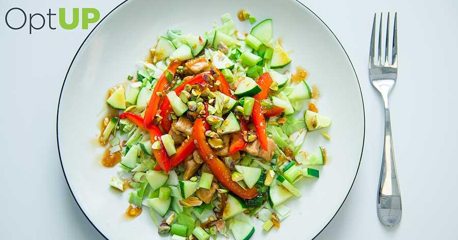 asian pork cabbage salad