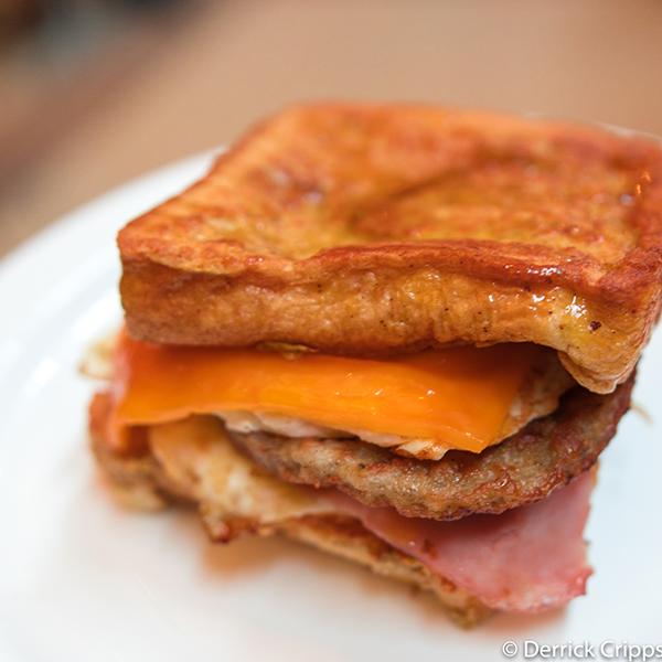 French Toast Breakfast Sandwich