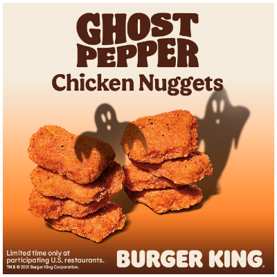 Ghost Pepper Nuggets
