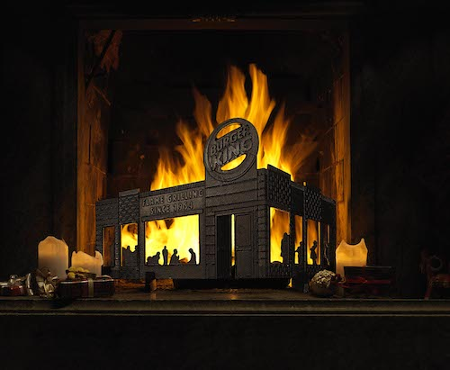 Burger King firescreen