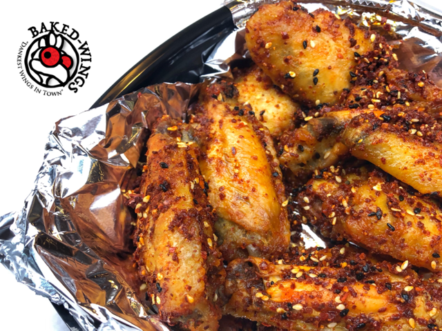 Baked wings to go