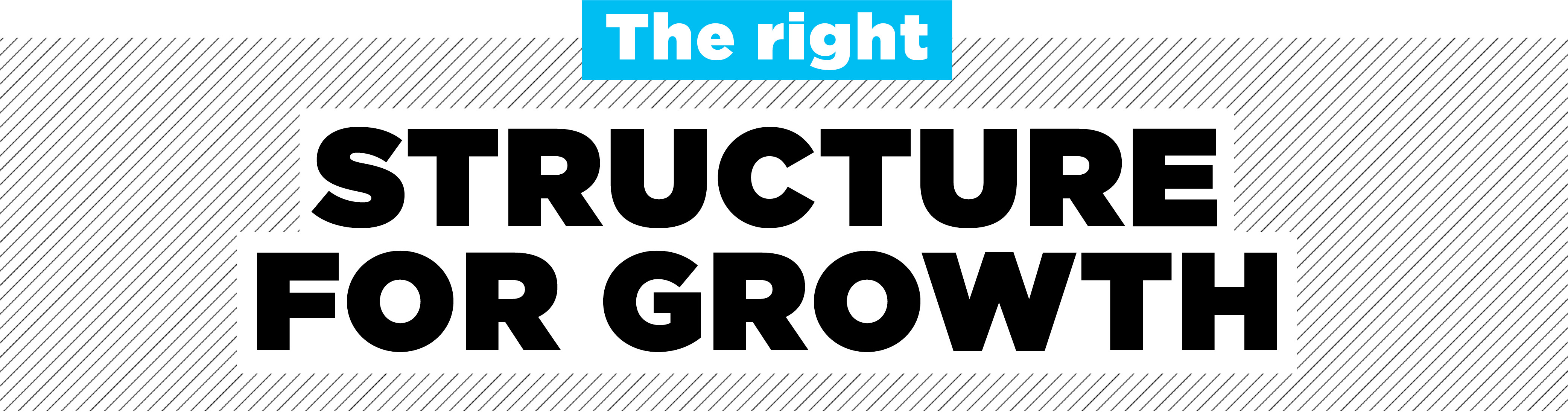 the right structure for growth