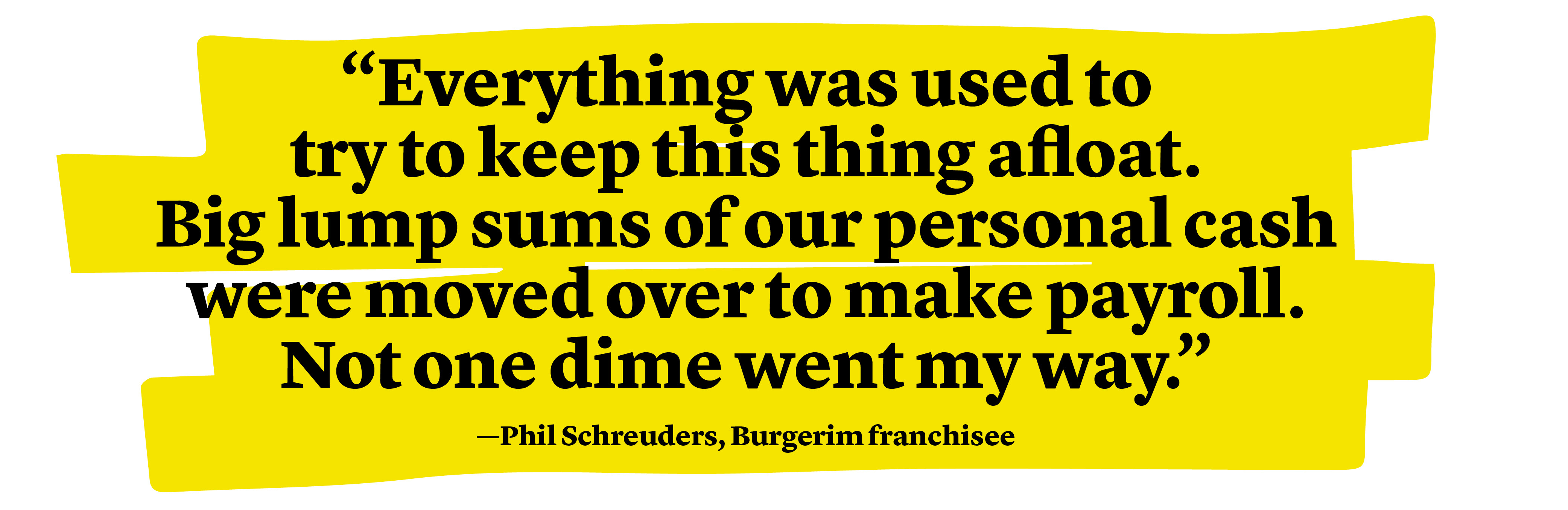 Phil Schreuders quote