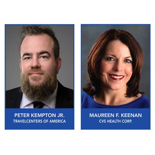 Peter Kempton and Maureen Keenan