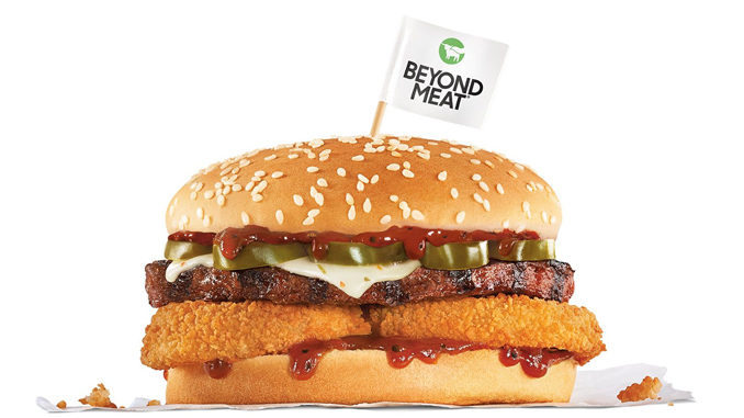 Carl's Jr. and Hardee's Beyond Meat