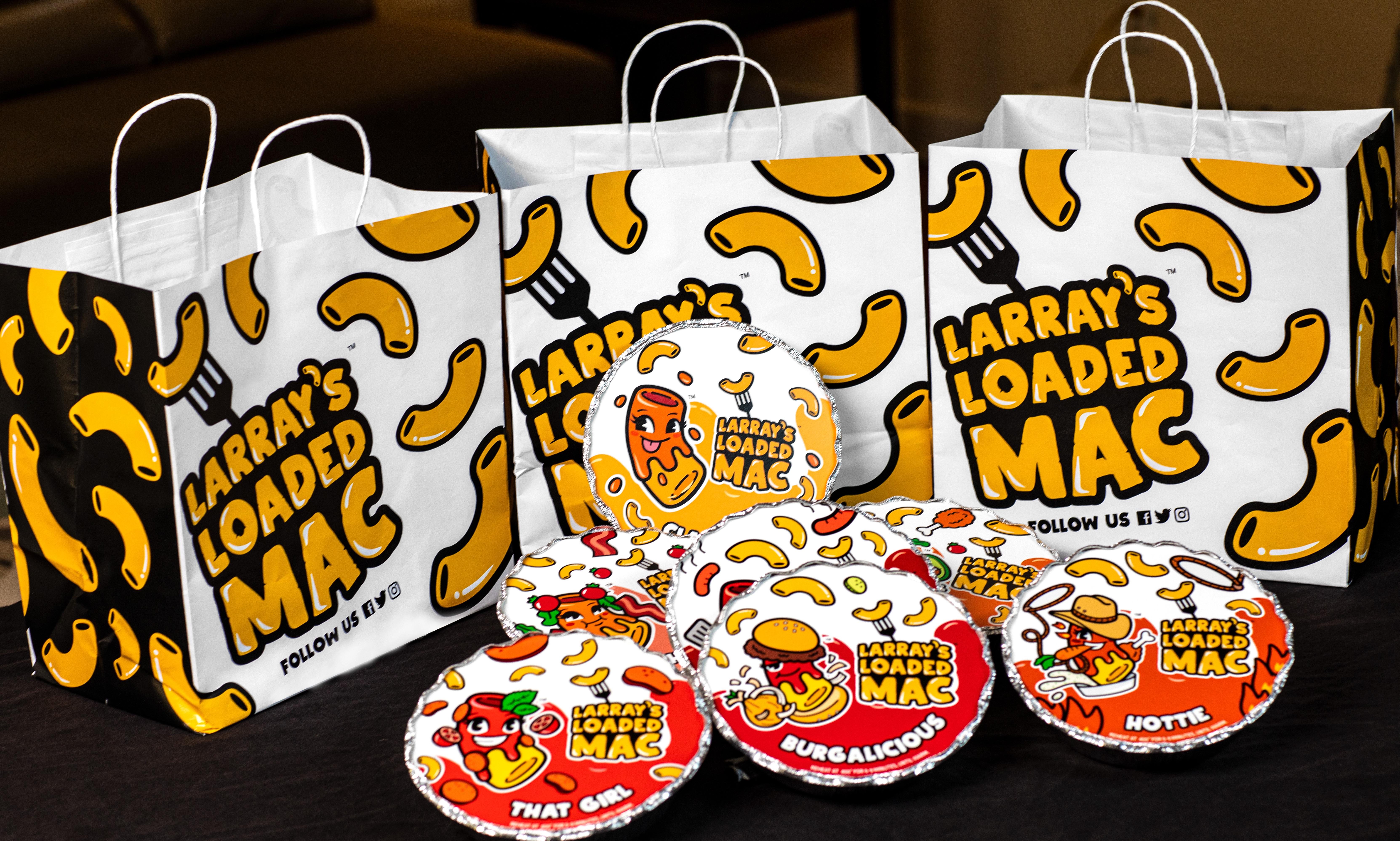 Larray's Loaded Mac food