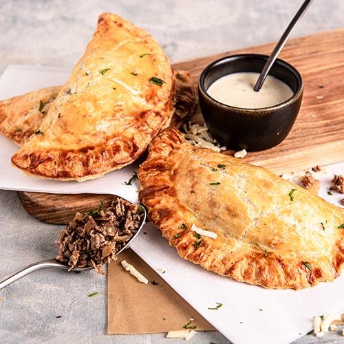Cheesesteak Hand Pie