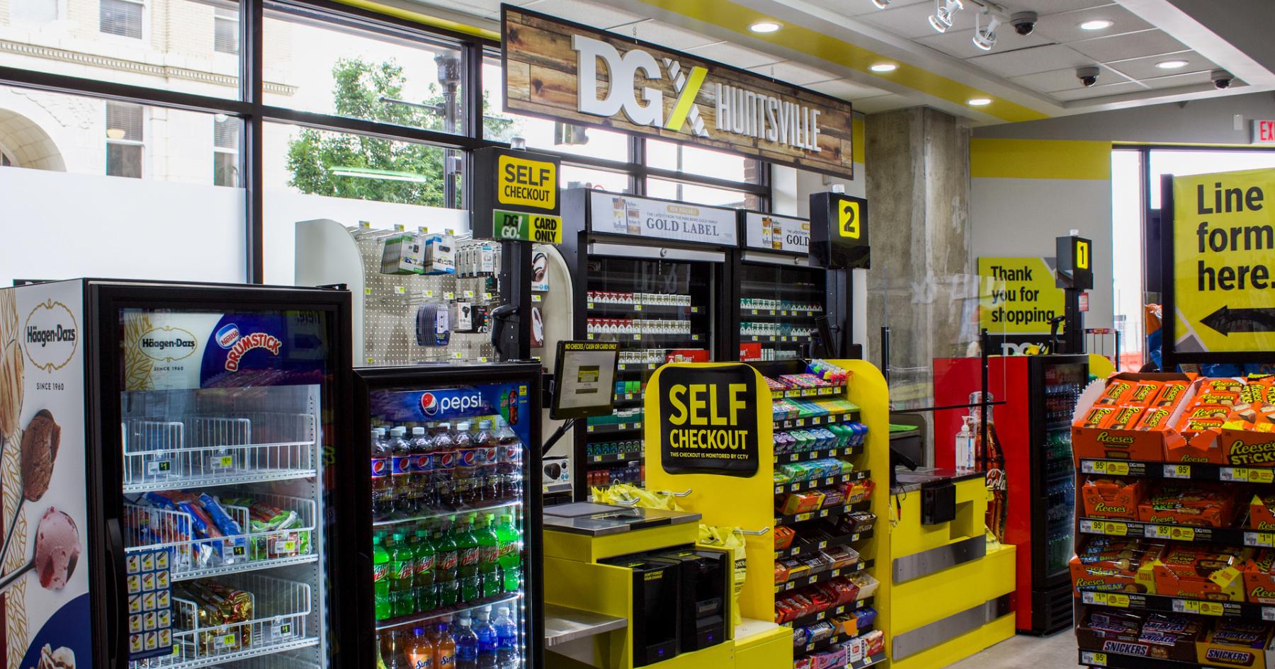 DGX checkout