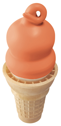 Dreamsicle Cone/Dairy Queen