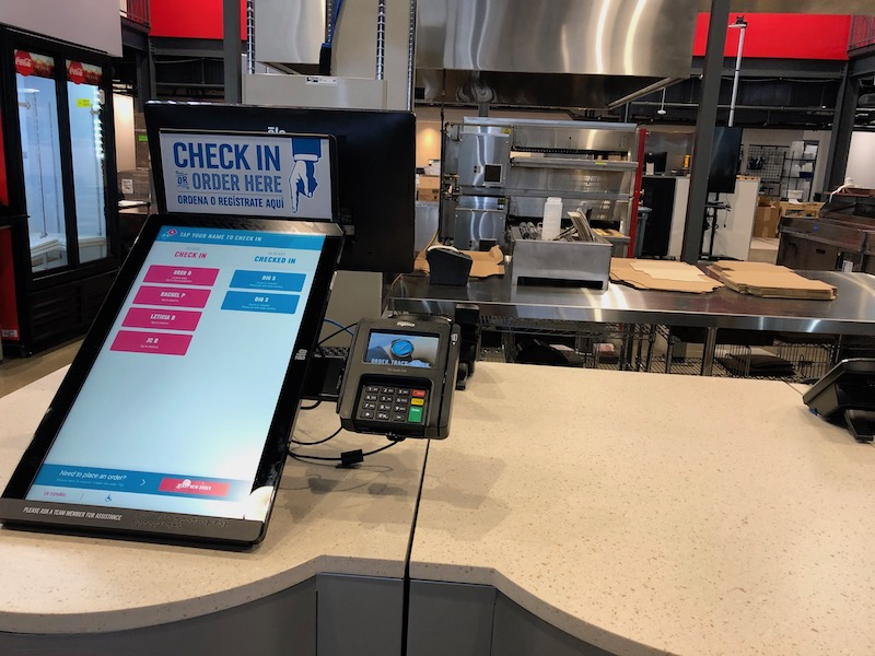 Domino's works to keep its technology edge