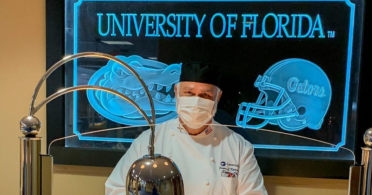 UF Chef in Catering