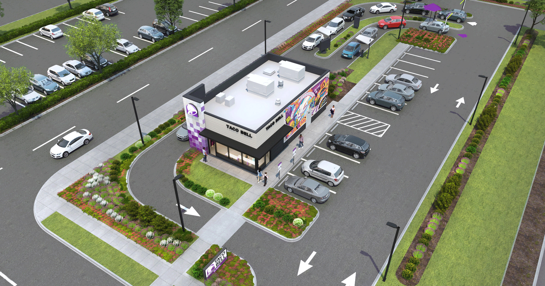 Taco Bell new location