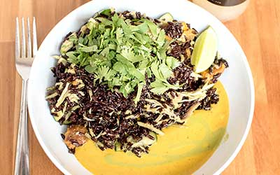 forage kitchen thai bowl