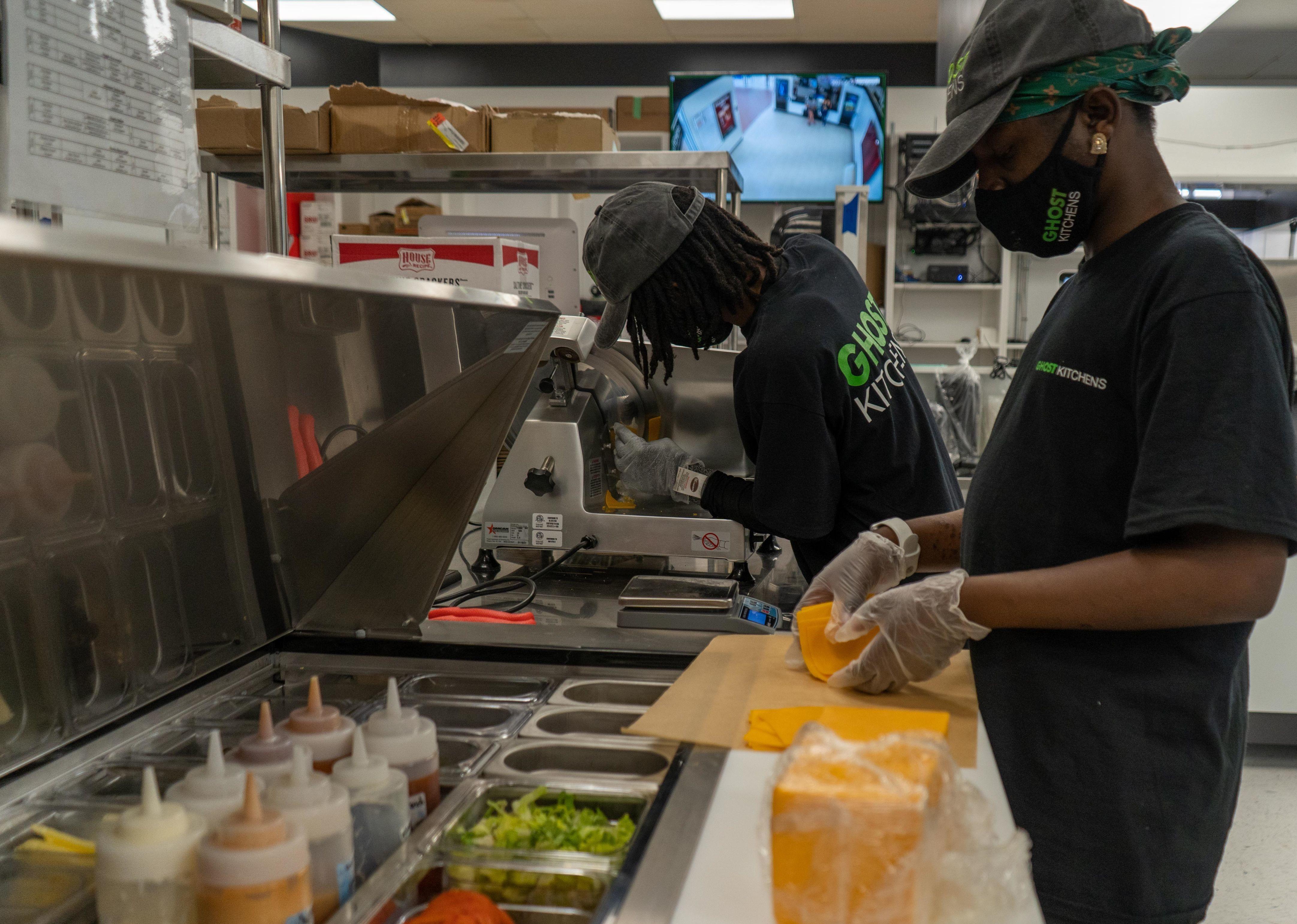 Ghost Kitchen Brands employee