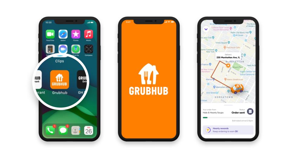 Grubhub new branding