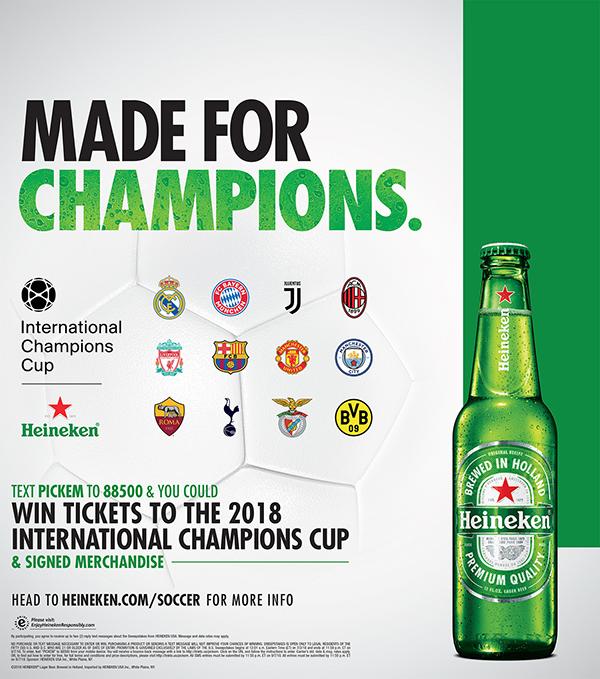 Heineken ICC soccer