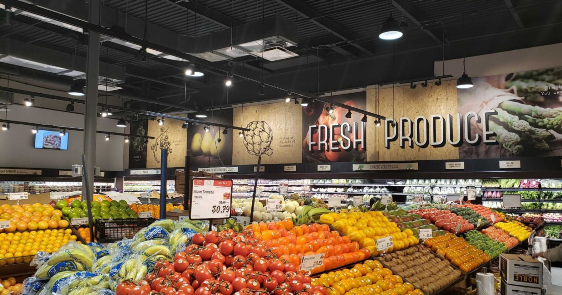 HMart produce