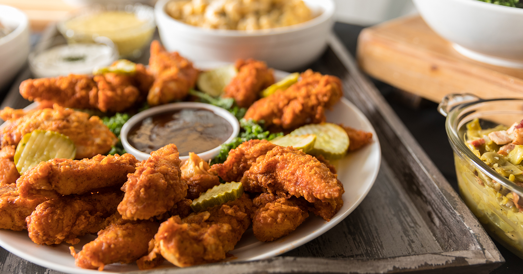 hot chicken catering