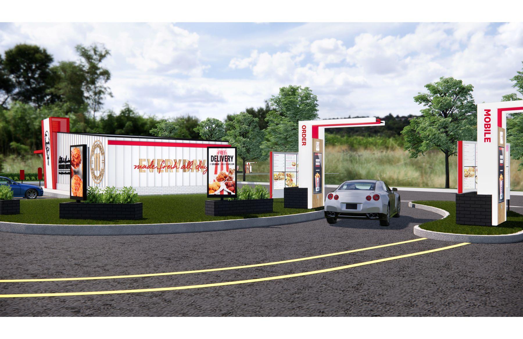 KFC drive-thru
