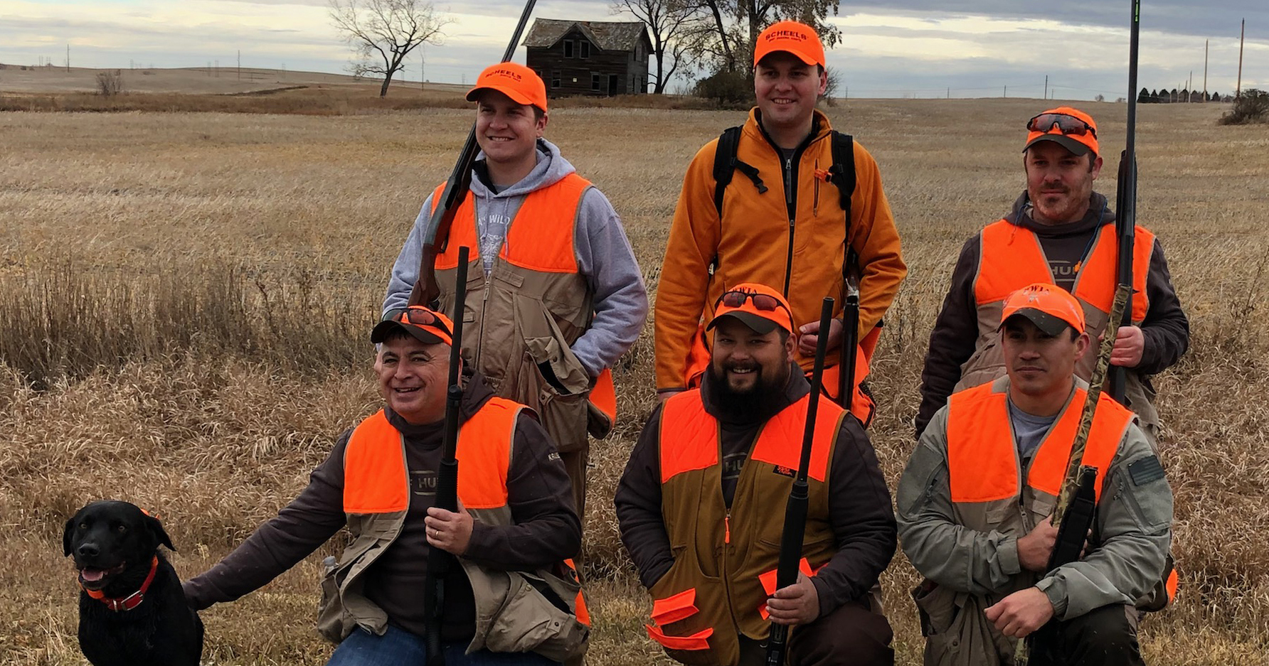 wounded warrior pheasant hunt