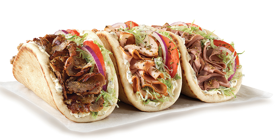 Arby's Gyro options