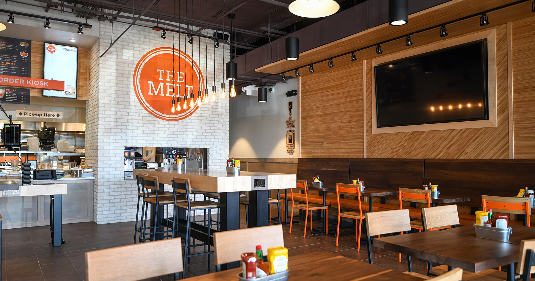 the melt interior