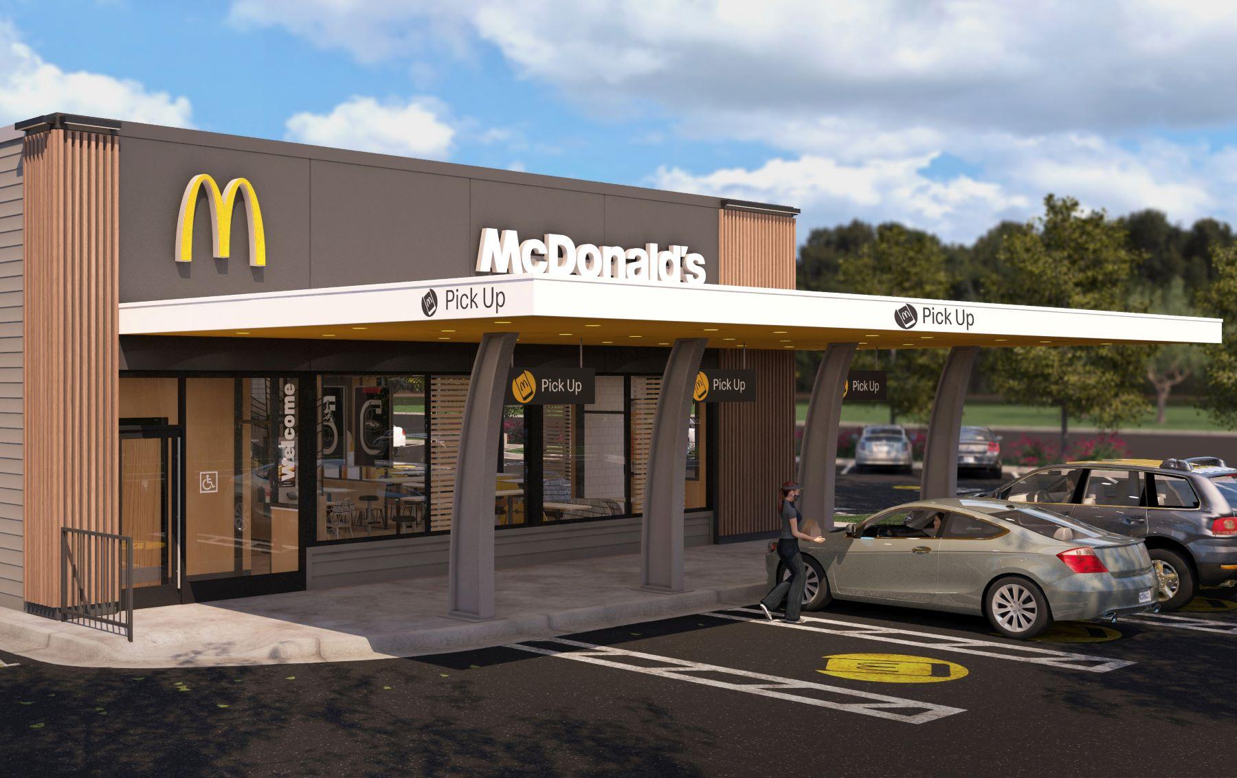 McDonald's front pickup