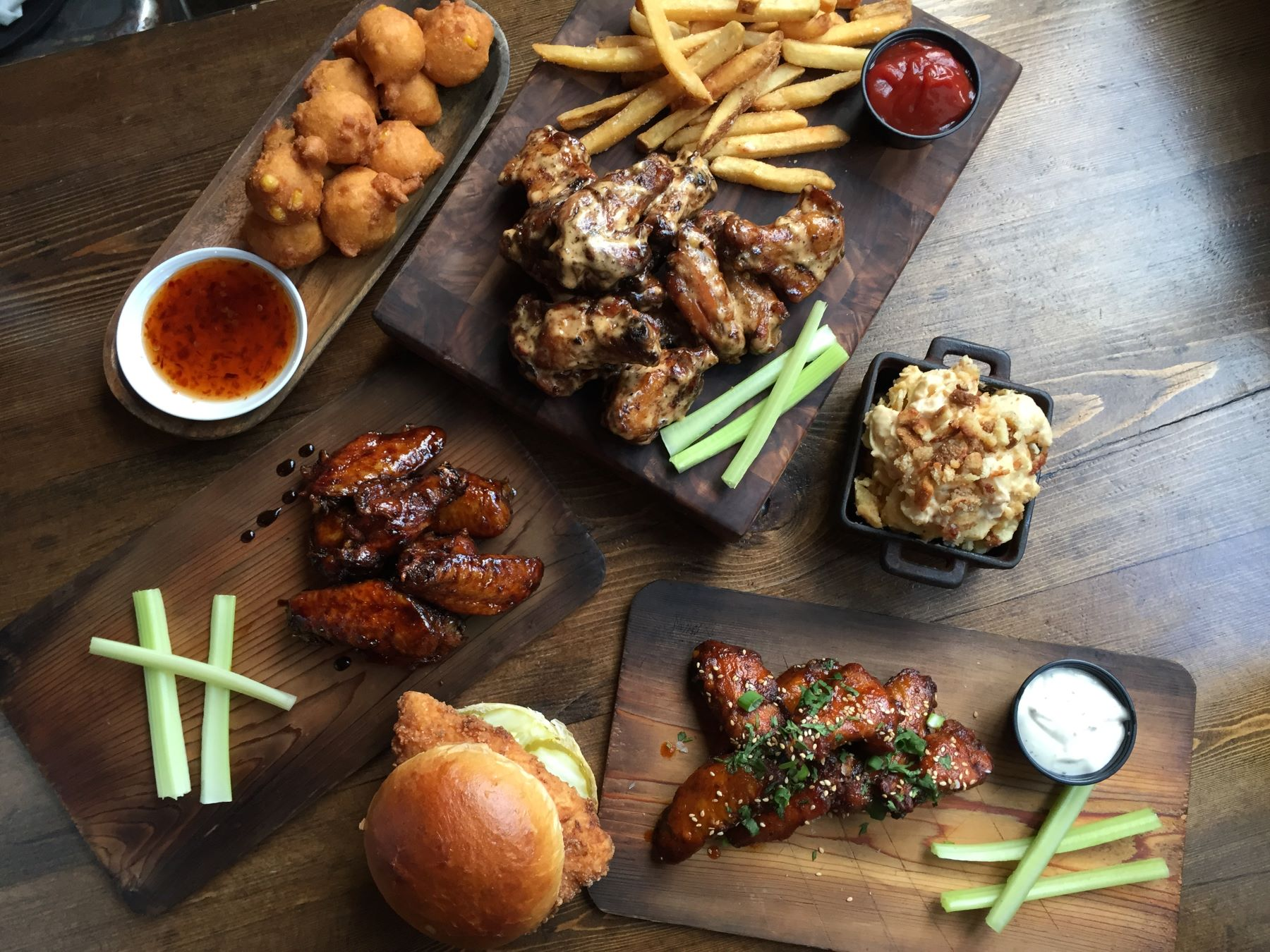 Mighty Quinn's food