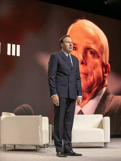 NACDS moment silence John McCain