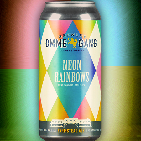 neon rainbows beer