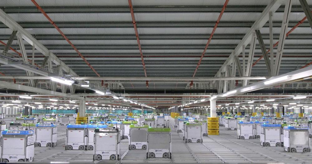 ocado kroger warehouse