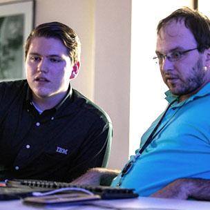 RBS Men at Computer
