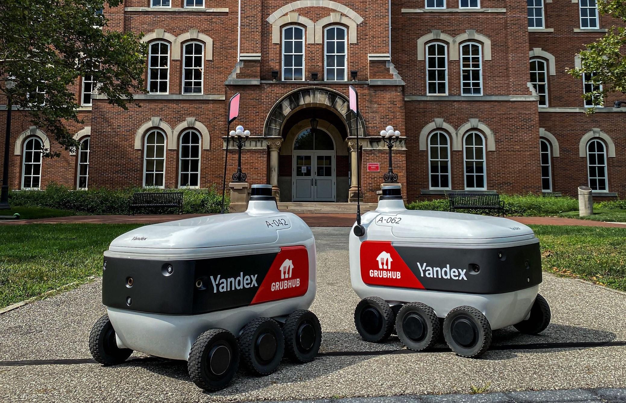 Yandex robots at Ohio State