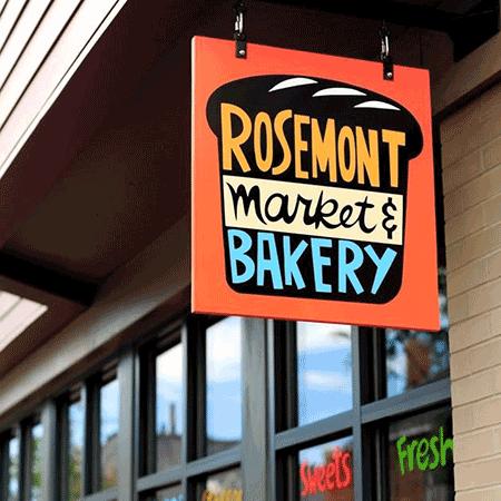 rosemont market bakery exterior