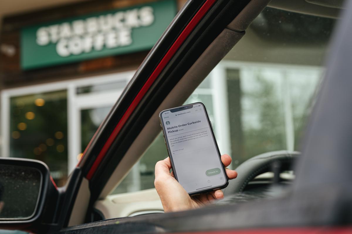 Starbucks ordering