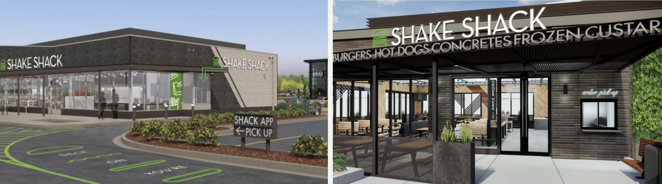 Shake shack pick-up
