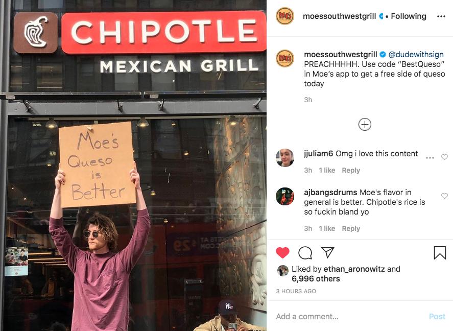 moe's marketing queso