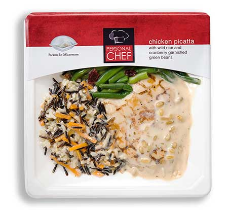 sealed air ready meals chicken picatta