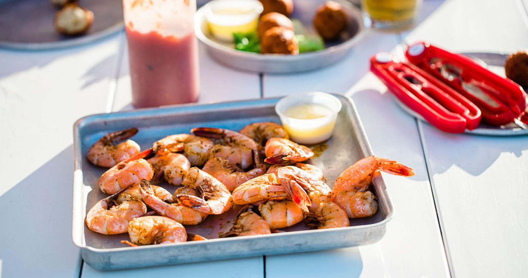 Shrimp at Shuckin
