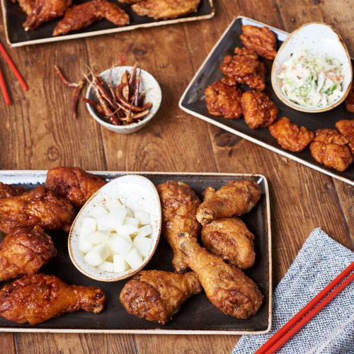 bonchon signature fried chicken
