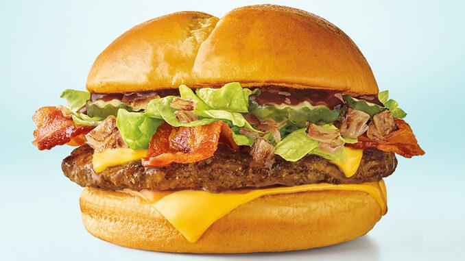 Mesquite butter bacon cheeseburger