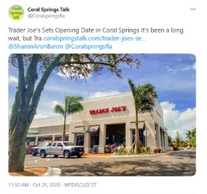 trader joe's twitter